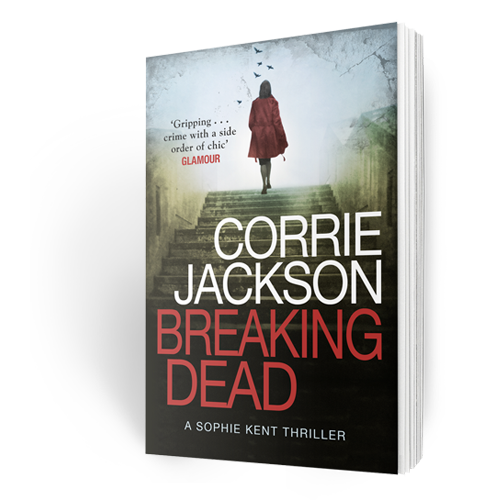 Corrie Jackson Breaking Dead Crime Author